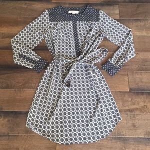 LOFT Paisley Shirtdress